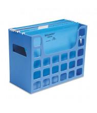 """Pendaflex DecoFlex 6"""" D Letter Desktop Hanging File, Blue"""