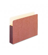 """Pendaflex Legal 5-1/4"""" Expansion Straight Tab Watershed Folder, Redrope"""