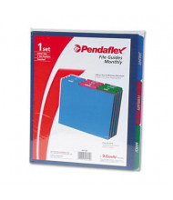 Pendaflex 1/3 Top Tab Letter 12-Month File Guides, Assorted, 1 Set
