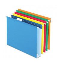 "Pendaflex Letter 2"" Box Bottom Hanging File Folders, Assorted Colors, 25/Box"