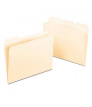 Pendaflex Ready-Tab 1/3 Cut Tab Letter File Folder, Manila, 50/Box