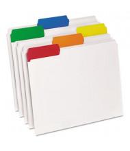 Pendaflex EasyView 1/3 Cut Tab Letter Poly File Folder, Clear, 25/Box