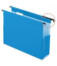 """Pendaflex SureHook Letter 2"""" Box Bottom Hanging Folders, Blue, 25/Box"""