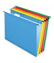 Pendaflex Surehook Letter Hanging Folders, Assorted Colors, 20/Box