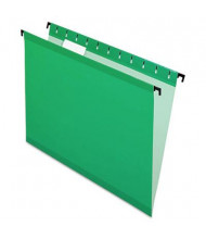 Pendaflex SureHook Legal Hanging Folders, Bright Green, 20/Box