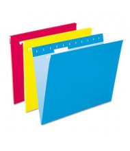 Pendaflex Letter Hanging File Folders, Assorted Colors, 25/Box