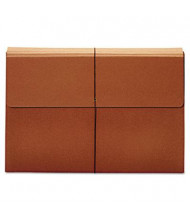 """Pendaflex 12"""" x 18"""" Size 3-1/2"""" Expanding Wallet with Closure, Brown"""