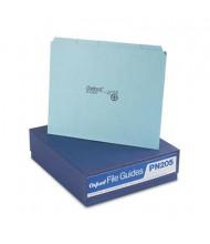 Pendaflex Blank 1/5 Top Tab Letter File Guides, Pressboard, 100/Box