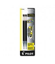 Pilot Refill for Pilot Roller Ball Gel Pens, Blue Ink, 2 Pack