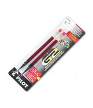 Pilot Refill for Gel Pens, Red Ink, 2-Pack