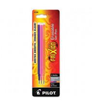 Pilot Refill for FriXion Erasable Gel Ink Pens, Assorted Ink, 3-Pack