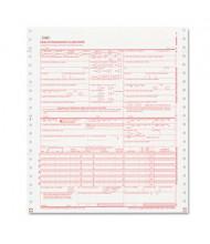 "Paris Business Products 9-1/2"" x 11"" CMS Insurance Claim Form, 2500-Forms"