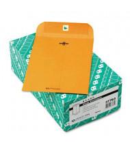 "Quality Park 6-1/2"" x 9-1/2"" #63 32lb Clasp Envelope, Brown Kraft, 100/Box"