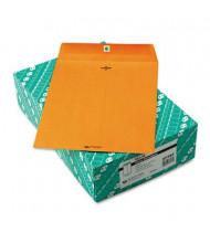 """Quality Park 10"""" x 13"""" #97 32lb Clasp Envelope, Light Brown, 100/Box"""