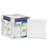 Quality Park 250-Pack CD & DVD Sleeves