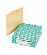 "Quality Park 9-1/2"" x 11-3/4"" Paper File Jackets, Manila, 100/Box"