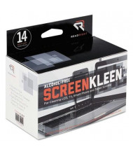 Read Right ScreenKleen Alcohol-Free Wipes Box, 14 Wipes