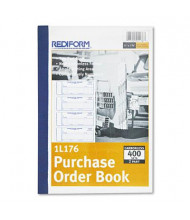 """Rediform 2-3/4"""" x 7-7/8"""" 400-Page Purchase Order Book"""