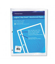 "National Brand 8-1/2"" x 11"", 100-Sheets, Ruled Rip Proof Reinforced Filler Paper"