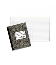 "National Brand 7-7/8"" X 10"" 80-Sheet Wide Rule Composition Book, Black Marble Cover"