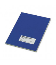 "National Brand 7-1/2"" X 9-1/4"" 60-Sheet Narrow Rule Chemistry Notebook, Blue Cover"