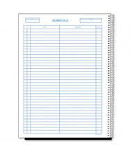 "Rediform 8-1/2"" x 11"" 100-Page Wirebound Call Register Book, 3700-Forms"
