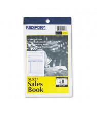 "Rediform 4-1/4"" x 6-3/8"" 50-Page 2-Part Carbonless Sales Book"