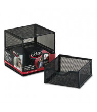 Rolodex Wire Mesh Organization Two-Drawer Cube
