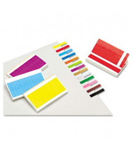 """Redi-Tag 1"""" x 3/16"""" Removable Page Flags, Assorted, 240 Flags/Pack"""