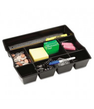 Rubbermaid 9-Compartment Regeneration Deep Drawer Organizer, Black