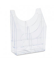 Rubbermaid 6-Section Optimizers Multipurpose Pocket Organizer, Clear