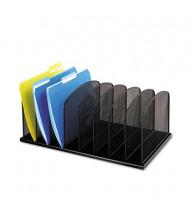 Safco 8-Section Mesh Desk Organizer, Black