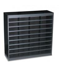 Safco 36-Compartment E-Z Stor Steel Literature Sorter, Black