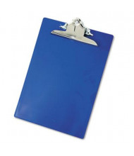 "Saunders 1"" Capacity 8-1/2"" x 12"" Recycled Plastic Clipboard, Blue"