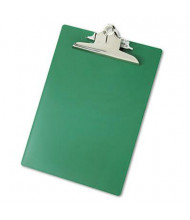 """Saunders 1"""" Capacity 8-1/2"""" x 12"""" Recycled Plastic Clipboard, Green"""