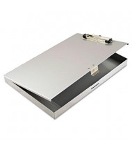 "Saunders 1/2"" Capacity 8-1/2"" x 12"" Storage Clipboard, Gray"