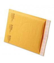 "Sealed Air 8-1/2"" x 12"" Side Seam #2 Jiffylite Self-Seal Mailer, Golden Brown, 100/Carton"