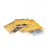 "Sealed Air 4"" x 8"" #000 Jiffylite Self-Seal Mailer, Golden Yellow, 250/Carton"