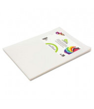 """Smart-Fab 12"""" x 18"""" White Disposable Fabric Sheets, 45/Pack"""