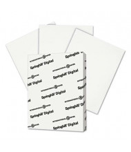 "Springhill 8-1/2"" x 11"", 90lb, 250-Sheets, White Index Card Stock"