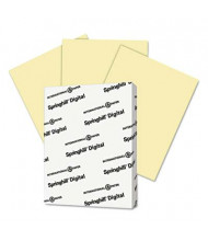 "Springhill 8-1/2"" x 11"", 90lb, 250-Sheets, Canary Color Index Card Stock"