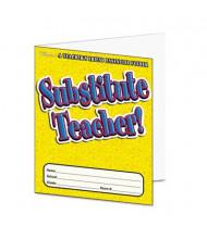 Scholastic Substitute Teacher Grade Pre K-6 Essential Folder, 16 pages