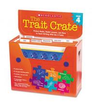 Scholastic The Trait Crate Grade 4 Teacher Lesson Guide, 7 Books