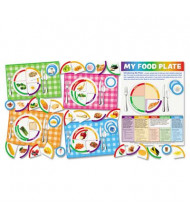 """Scholastic """"My Food Plate"""" Bulletin Board Set with Poster and Activity Guide"""