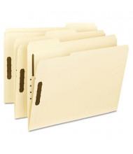 Smead 1/3 Cut Top Tab 2-Fastener Letter File Folder, Manila, 50/Box