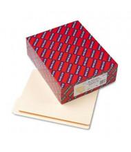 Smead Reinforced 1/3 Cut Top End Tab Letter File Folder, Manila, 100/Box
