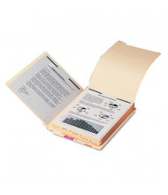 Smead Letter Stackable Folder Dividers with Fasteners, 10-Pack