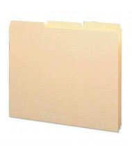 Smead Letter 1/3 Blank Tab Recycled Index File Guide Set, 18 pt. Manila, 100/Box