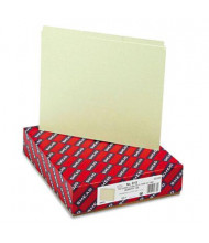Smead Letter 1/3 Blank Tab Recycled Index File Guide Set, 25 pt. Pressboard, 100/Box