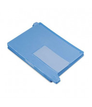 Smead Letter End Tab Out File Guide with Pockets, Blue, 25/Box